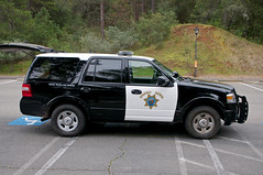 Highway Patrol SUV (dcnelson1898) Tags: blackandwhite police chp suv lawenforcement statepolice californiahighwaypatrol fordexpedition
