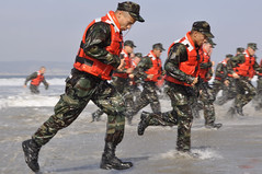 Running on Shore (US Navy) Tags: training military seal militar buds coronado usnavy specialforces entrenamiento unitedstatesnavy marineros