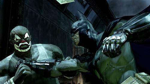 Batman Arkham Asylum pelea