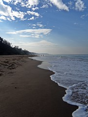 Live in the sunshine... (D a r s h i) Tags: sea beach water waves shore pune konkan ganpatipule darshi darshita olyumpussp565uz