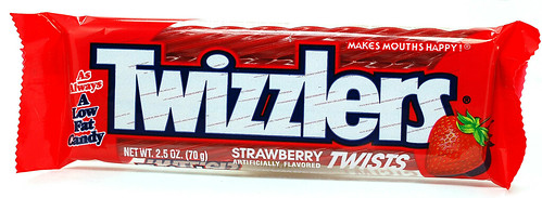 Twizzlers Strawberry Twists Licorice