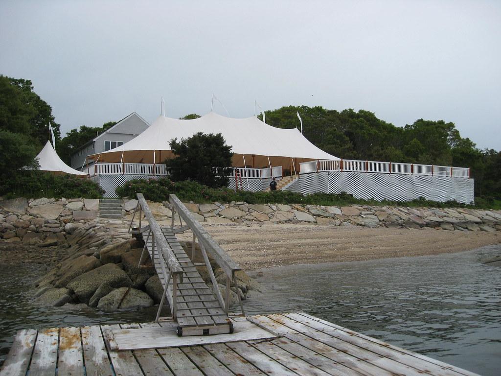 46'x100' Sperry Sailcloth Tent
