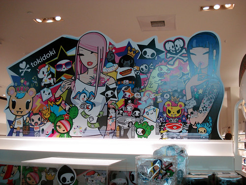 Tokidoki display header