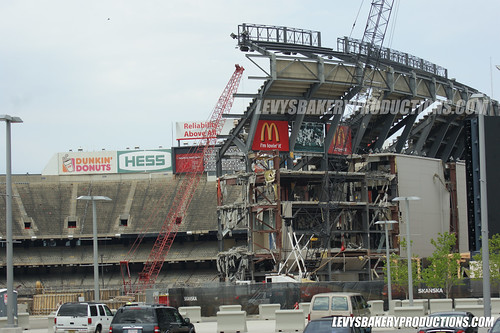 GIANTS  JETS STADIUM TORN DOWN APRIL 15, 2010