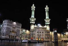 After Midnight (Abdulaziz Mansour) Tags: gate king mosque holy saudi arabia makkah   abdulaziz