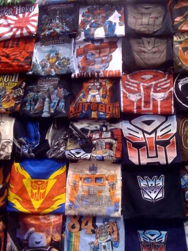 Shirts galore