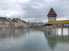 Lucerne (SoCal Mark) Tags: bridge water switzerland europe mark swiss luzern lucerne 2010 alders markalders