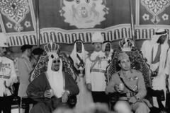 Saud Ibn Abdul Aziz [RF: Saudi Arabia RF];Faisal II [RF: Iraq RF] (K_Saud) Tags: lebanon king iraq center east arab ii saudi arabia summit conference middle talking beirut abdul aziz faisal ibn saud timeincown 956925