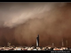 Kuwait - Right Place & Right Time - Al-Sarrayat Sand Storm over Kuwait City ( Lucie Debelkova / www.luciedebelkova.com) Tags: world city trip travel light vacation panorama cloud holiday storm tourism nature beautiful weather dark landscape outdoors photography photo scary sand cityscape tour force power gulf view place darkness shot image unique muslim capital scenic middleeast visit location tourist arabic arab journey sandstorm arabia vista destination thunderstorm kuwait traveling afraid dust visiting exploration landschaft epic thunder touring gcc kuwaitcity phenomena naturalphenomena endoftime unsual armagedon endofworld stateofkuwait powerofnature ageofdarkness luciedebelkova alsarrayat wwwluciedebelkovacom lpweather