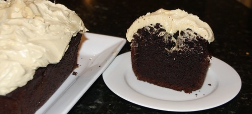 Sin N Joy Donna Hay Chocolate Stout Cake With Peanut Butter Frosting