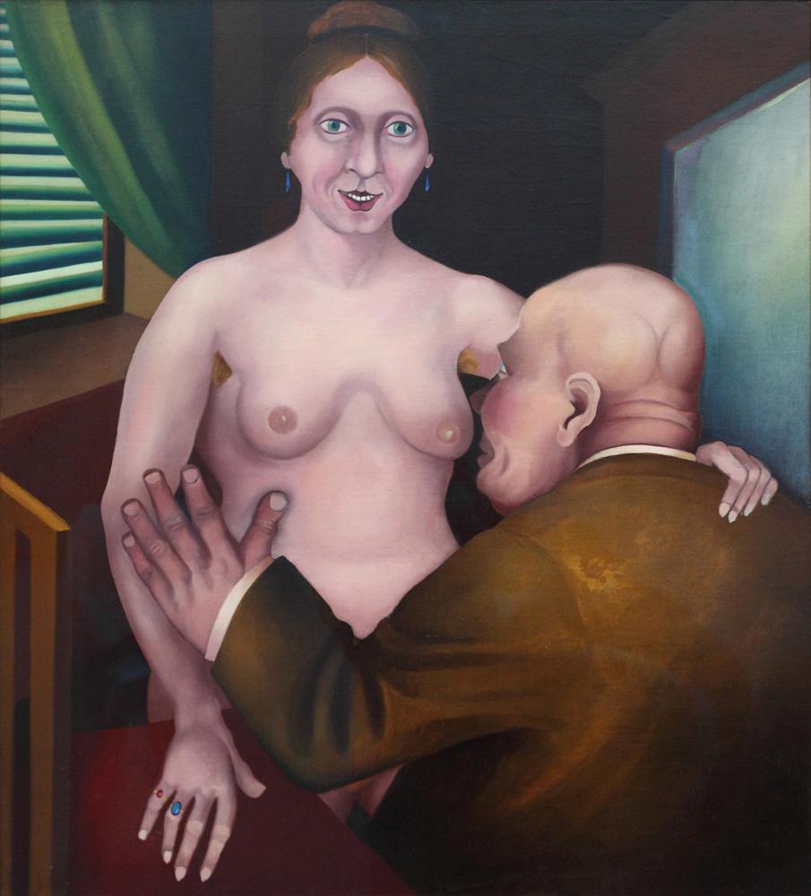 Heinrich Maria Davringhausen, Dirne [Whore], 1921