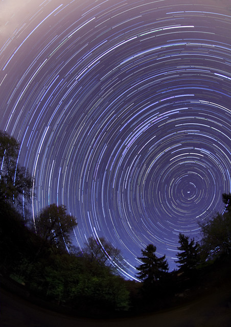 Star trails & Flight ban