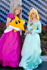 Peach and Rosalina (yeshayden) Tags: star cosplay nintendo rosalina princesspeach supermariogalaxy supanovamelbourne2010
