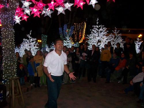 Actuando en Navidad en Usaquén