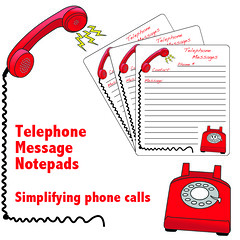 Telephone Notepads