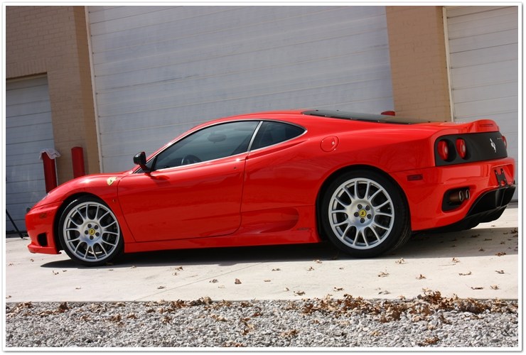 Ferrari Challenge Stradale full side view