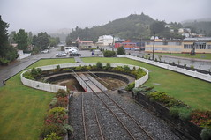 Turntable of Queenstown station Photo