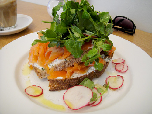Smoked Ocean Trout Tartine