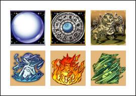 free Lucky Stars slot game symbols