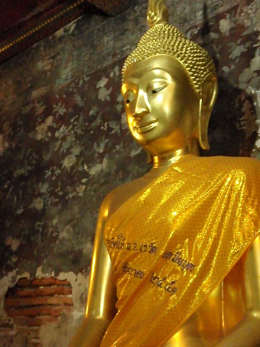 Buddha statue in BKK, Thailand