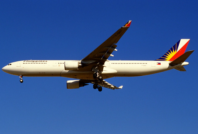 Philippine Airlines Airbus A330-301 (F-OHZT/203)
