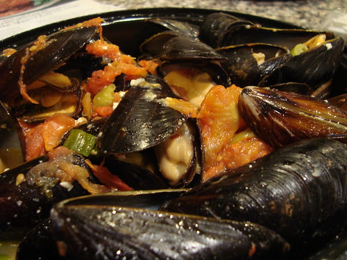 Mussels in Wine Sauce @ Agnanti (Astoria, NY)