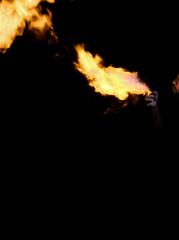 175:365 - Spitfire (Caleb Kerr) Tags: black dark fire flame spitfire 365 fail project365 blowfire spittingfire swallowfire breathfire