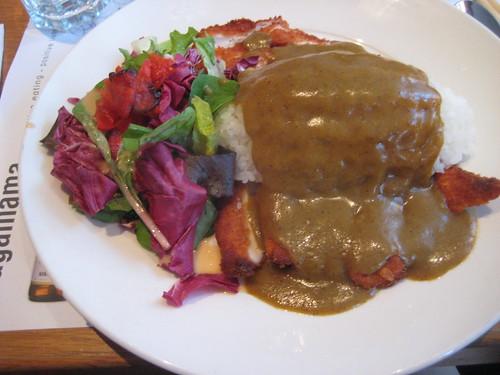 chicken katsu curry at wagamamas