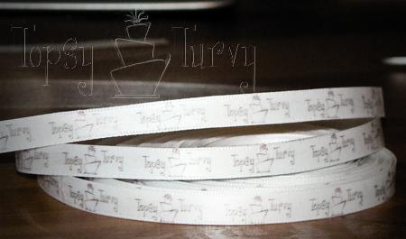 personalized ribbon finished
