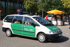 Polizei Sachsen - VW Sharan