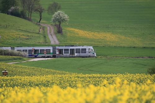 Regiotram bei Zierenberg