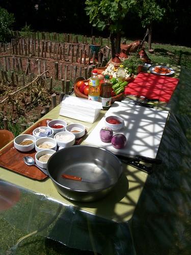 Moroccan Vegetable Garden