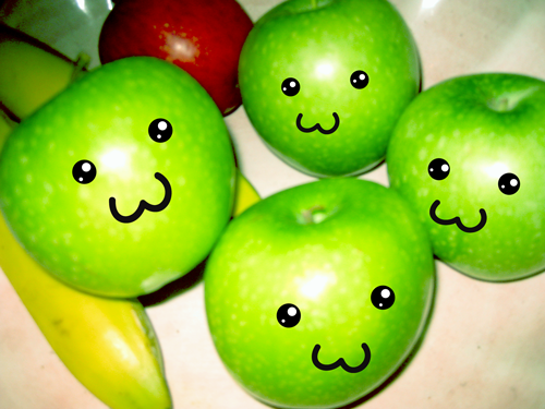 Everyday Kawaii: The Fruit Bowl