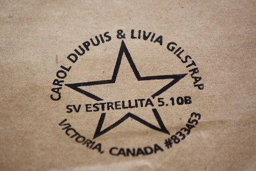 SV Estrellita 5.10b Boat Stamp