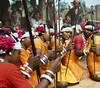 Rhythm Girls (Muria 9) (Collin Key) Tags: india youth jungle ind adivasi chhattisgarh muria bastar youthhouse ghotul collinkey chelik nayanar gondtribes tribalpeopleofindia villagedormitory motiari kingdomoftheyoung verrierelwin rodericknight