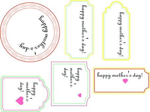 Mother S Day Tags: Heart Of Light: Mother's Day Printables