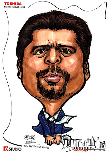 Caricature of Yaqub