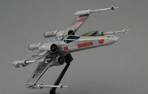 Star Wars 1/144 - X-Wing Red-5 - 4