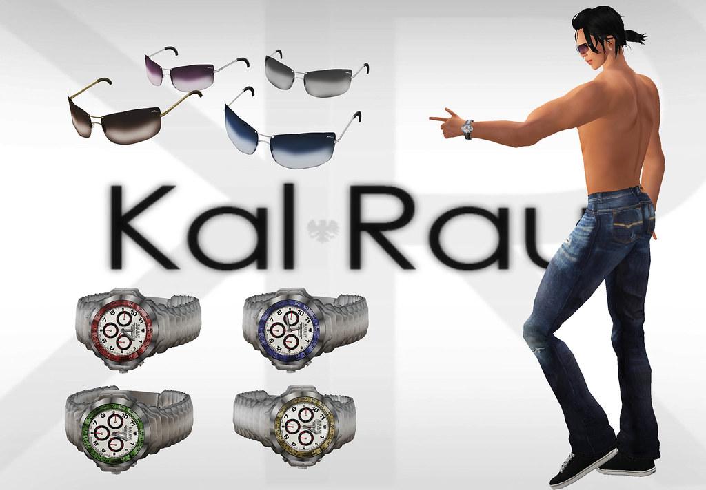 oculos e relogio KalRau