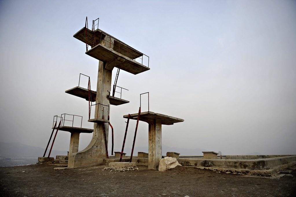 Swimming Pool Hill in Kabul