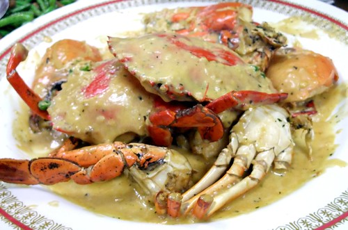 Creamy Butter Crabs