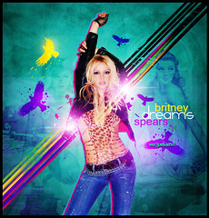 Britney Spears [ Dreams By Mr JunkieXL ] (Mr.JunkieXL) Tags: new old justin woman simon car radio lights spears madonna pop retro dreams brushes designs britney kissu 2010 junkiexl allover vectores phonography ladygaga