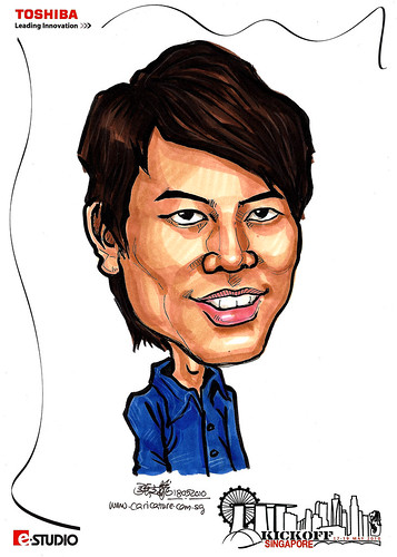 Caricature of Andy