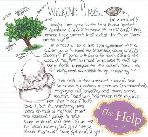 weekend plans 5.7.10