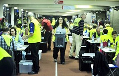 A photo from the election count