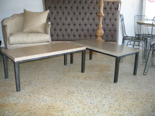 Polished Concrete Coffee Tables