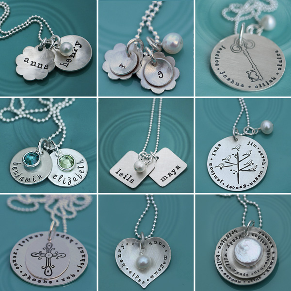 Vintage Pearl: Hand Stamped Jewelry