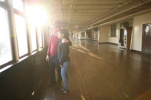 Cubierta De paseo del Titanic 2