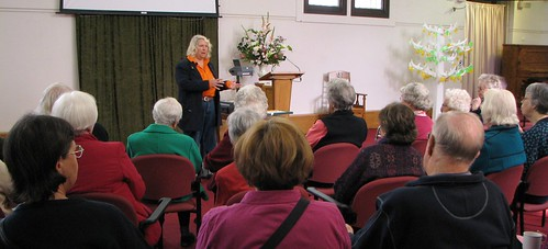 Maggie Ragless tells about Blackwood's history (Term 2, 2010)