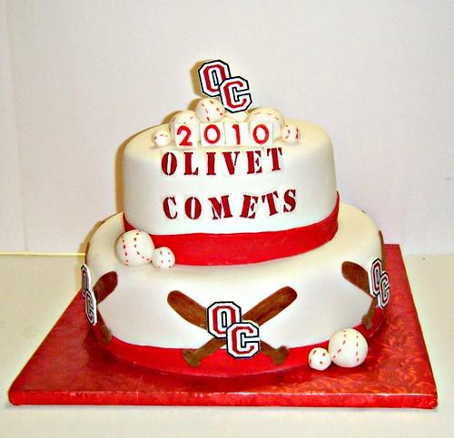 Olivet Baseball Cake